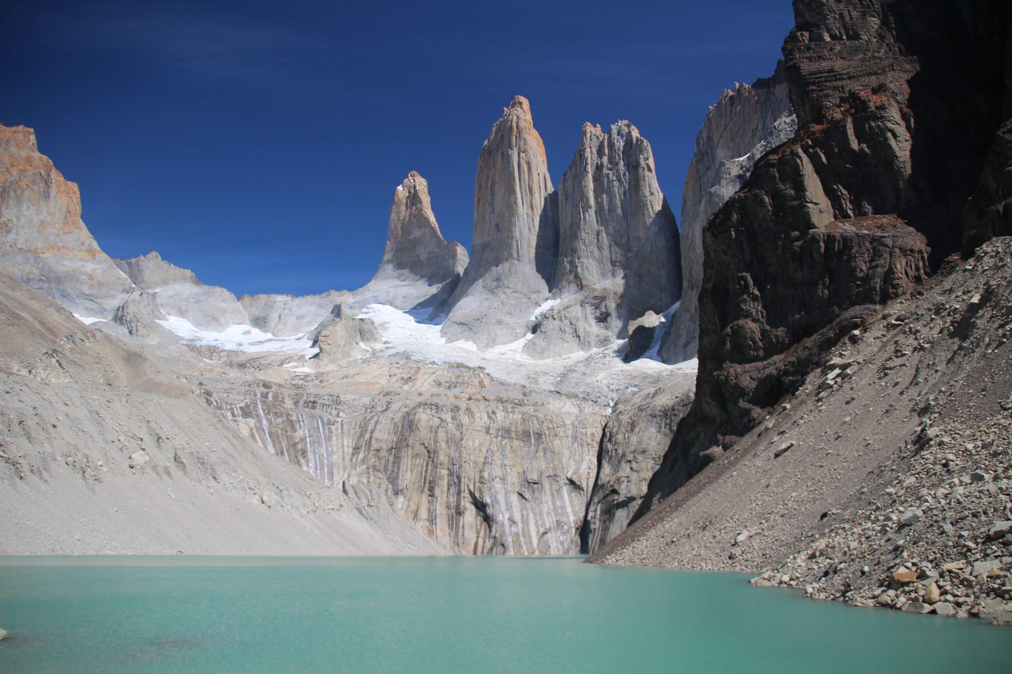 torres del paine beau temps lagune trek W patagonie chili