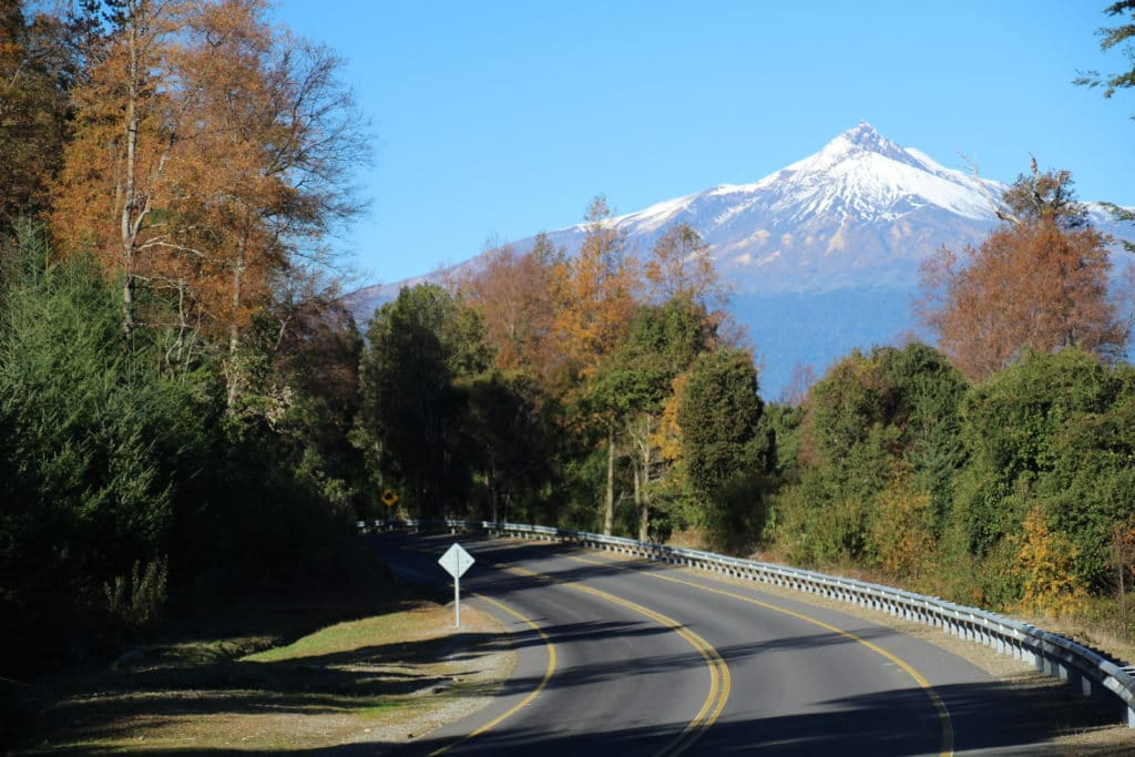 araucanie volcan road trip