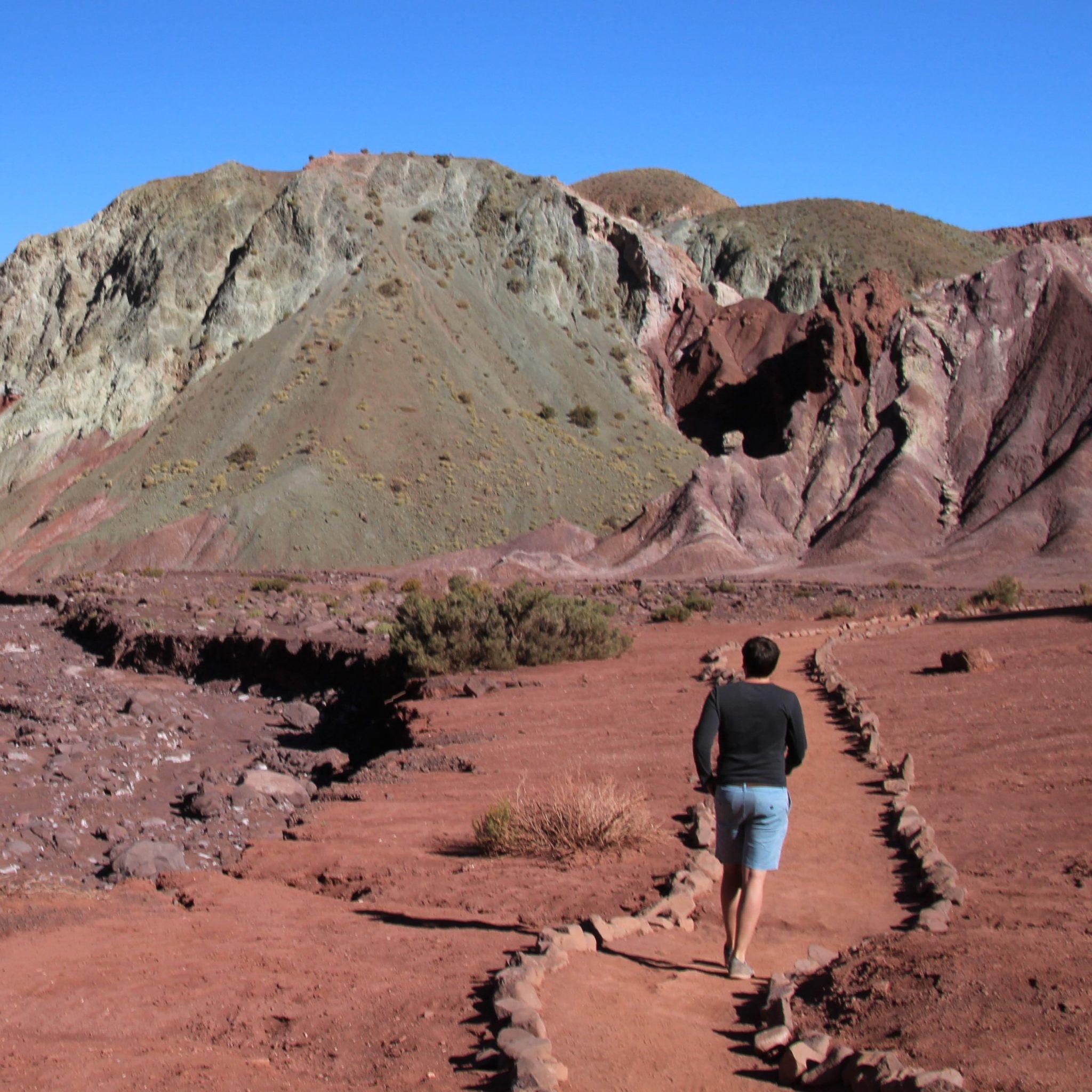 Vallée Arcoiris Atacama desert chili randonnée travelcoachchile