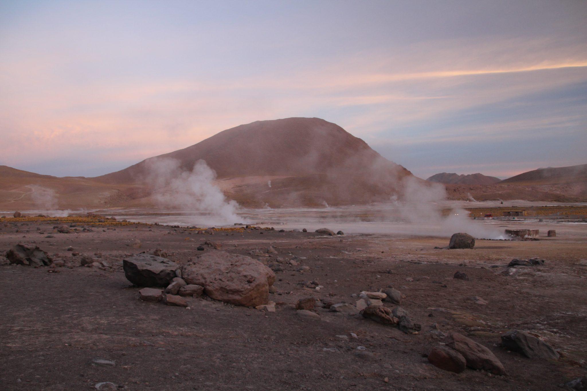 Geysers El Tatio Atacama desert chili