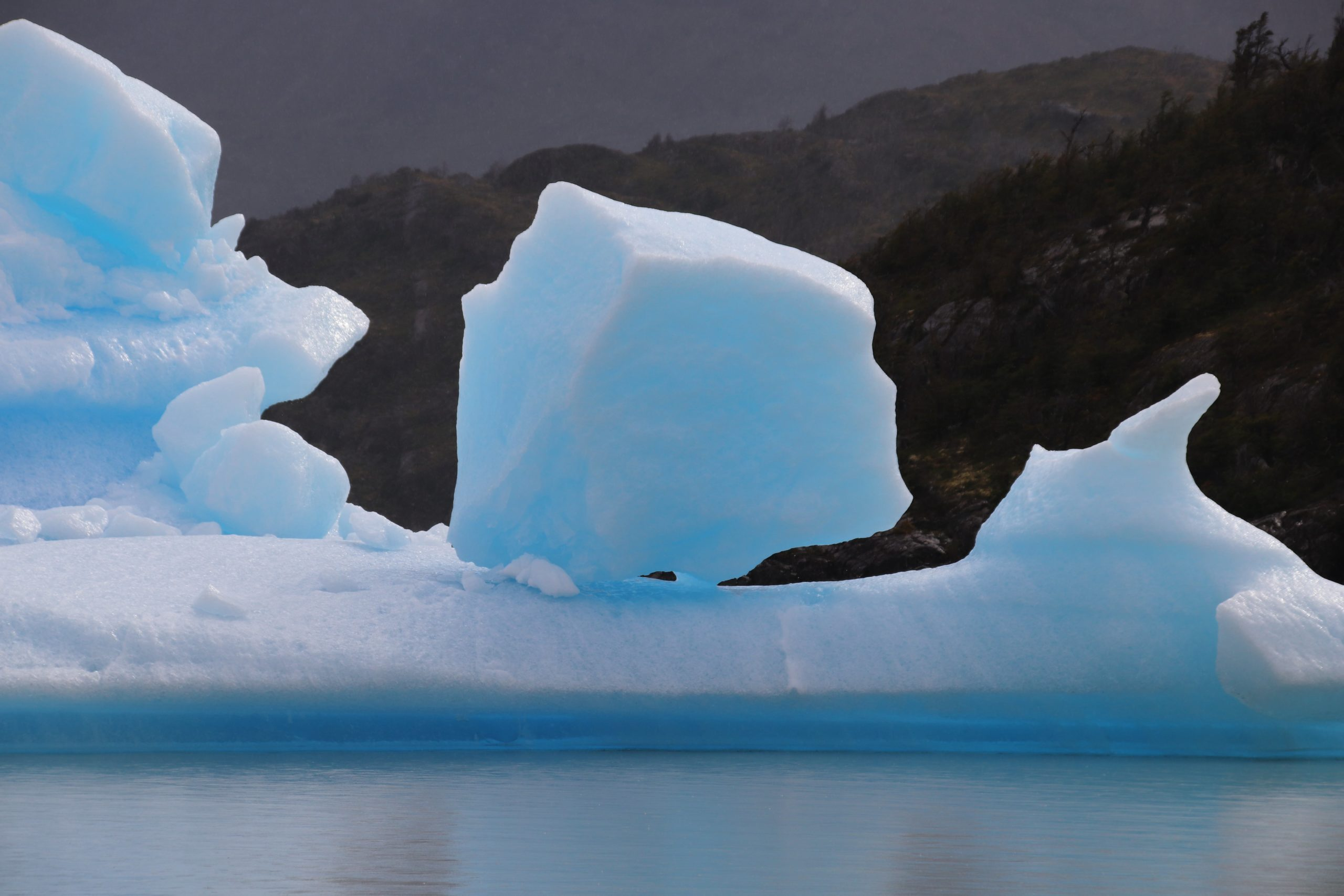 icebergs laguna san rafael chili route australe