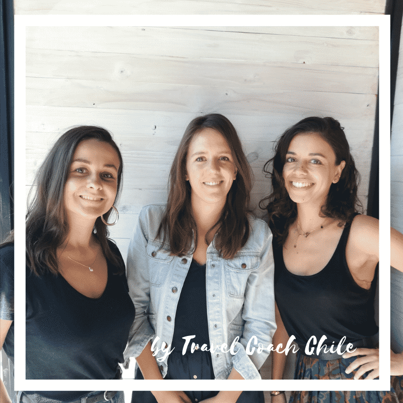 equipe travelcoachchile 3 personnes filles