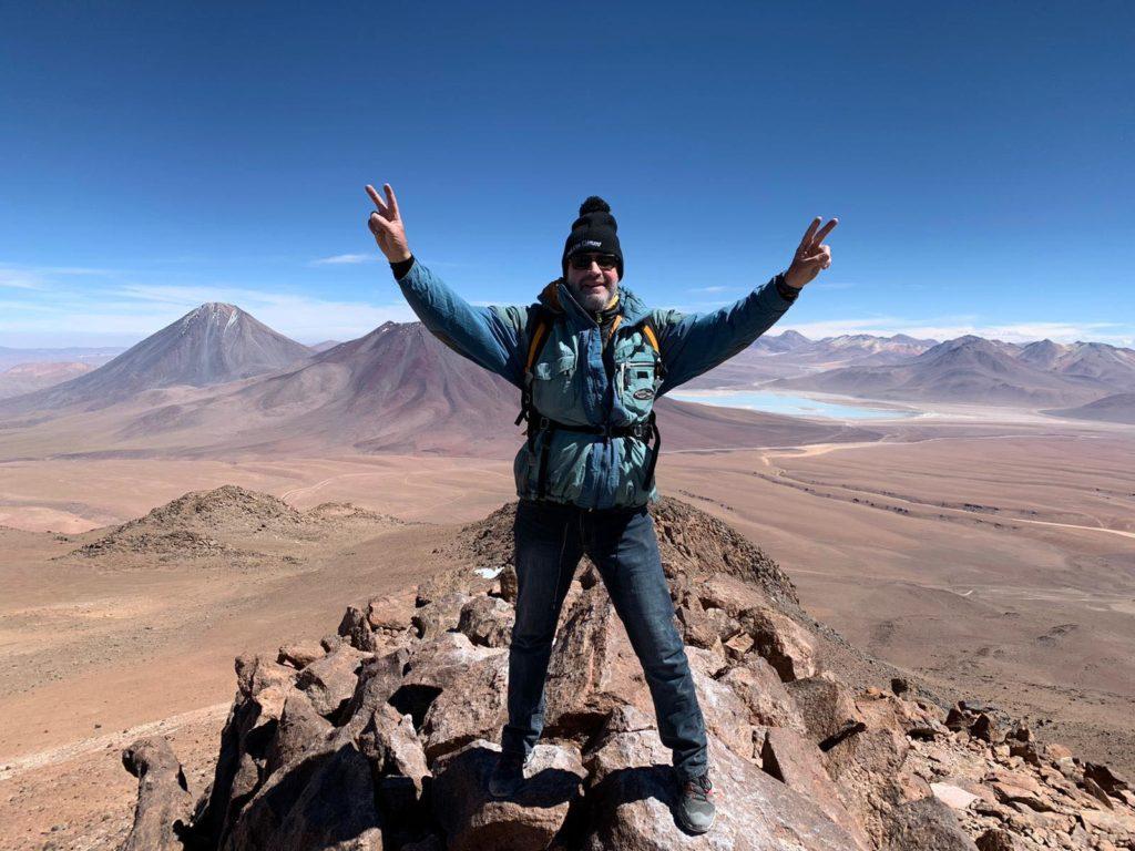 ascension cerro toco desert atacama
