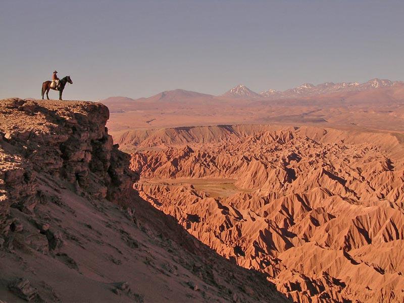 Randonnée equestre à Atacama piedra de la coca