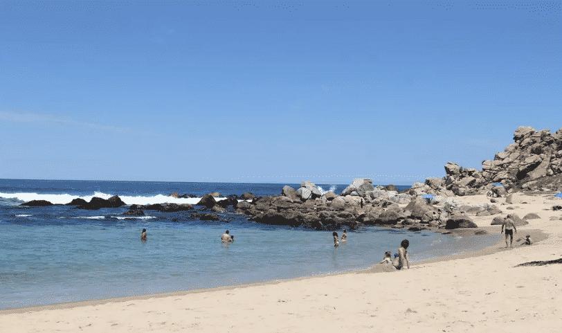 plage sable blanc chili tunquen