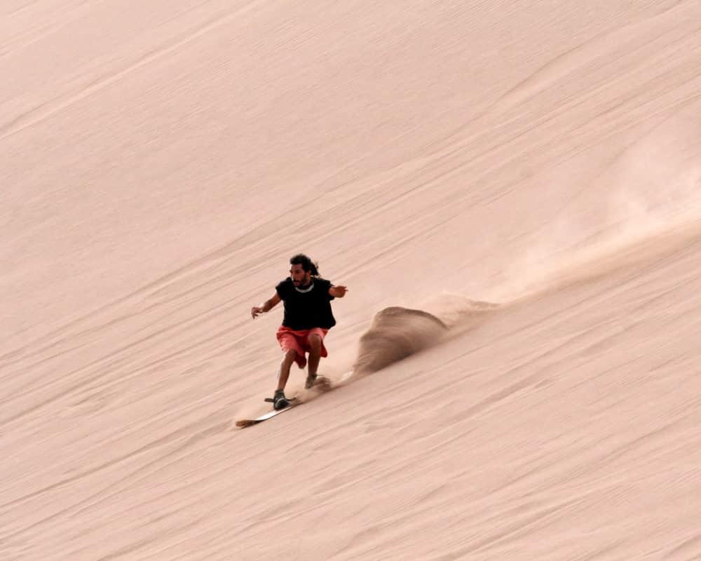 sandboard chili vallée de la mort desert atacama