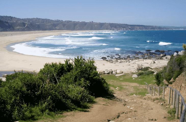 plage grande nature chili tunquen