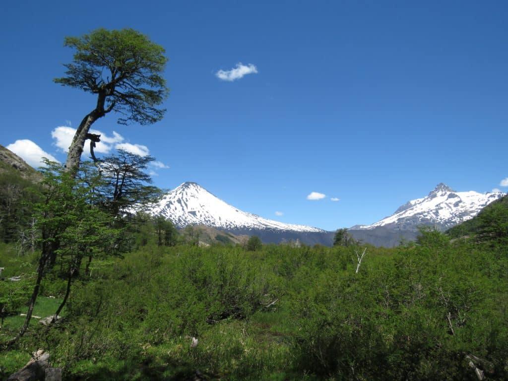 Volcan Antuco - parque national Laguna de Laj - Bio-Bio, chili