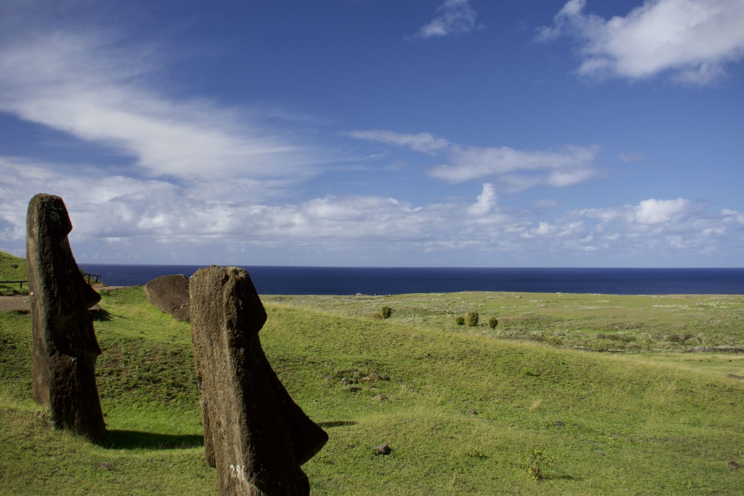 Photograph by Clement Guillon, Easter Island