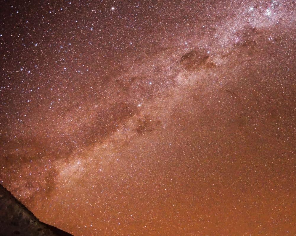 observation des étoiles atacama désert telescope voie lactée