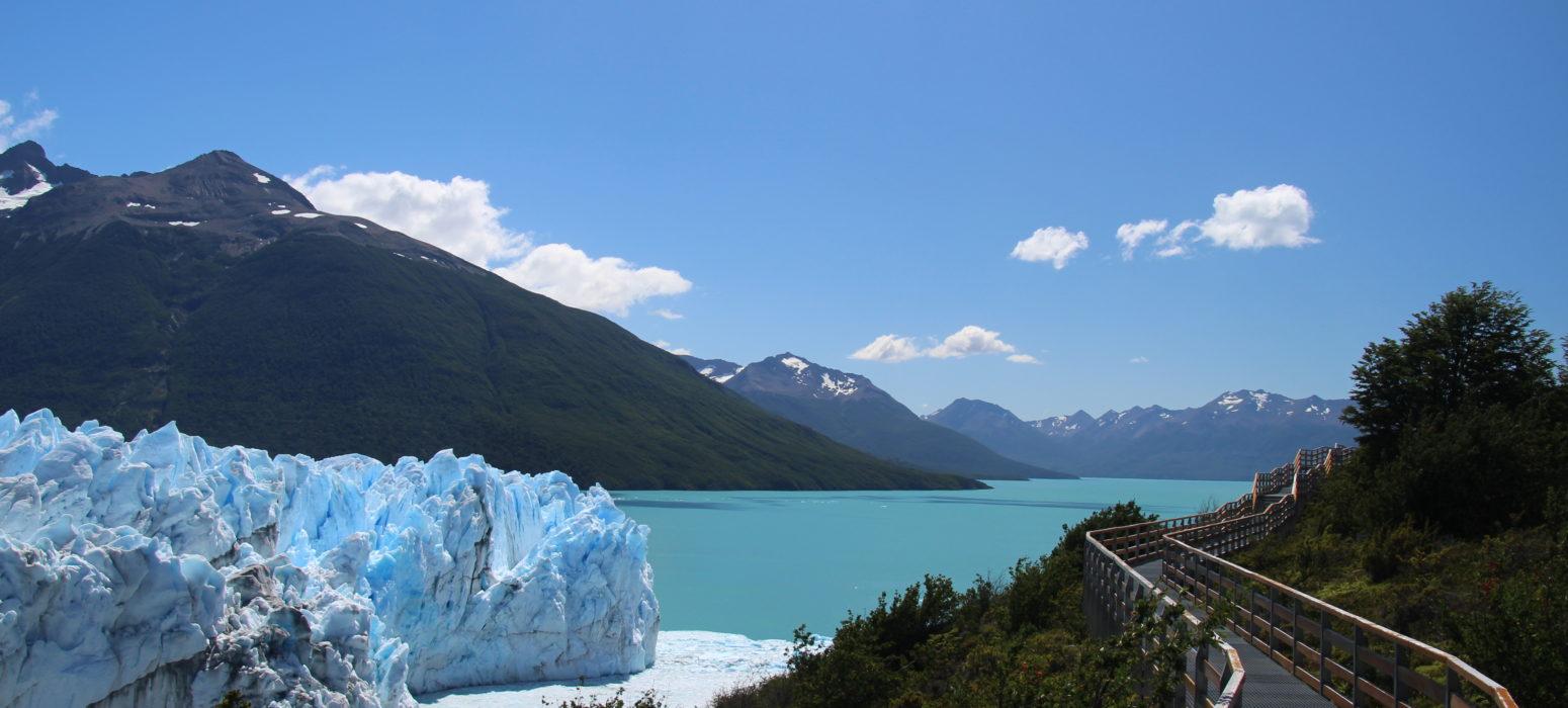 Perito Moreno glacier passerelle argentine patagonie