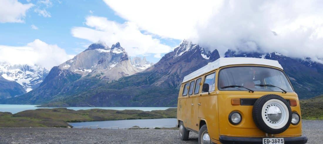 Road Trip en Kombi à Torres del Paine patagonie chili