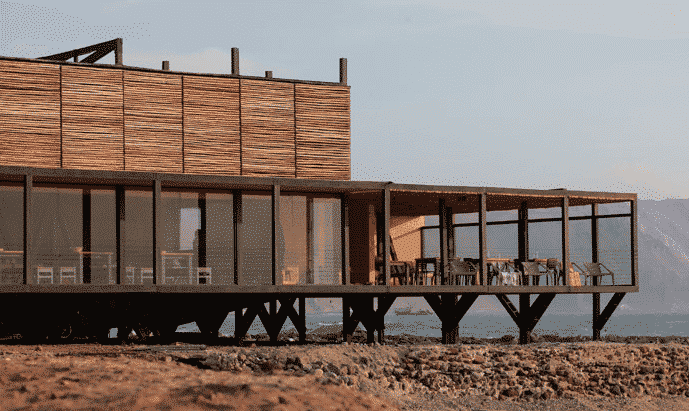 Apacheta vue sur mer à Arica au Chili