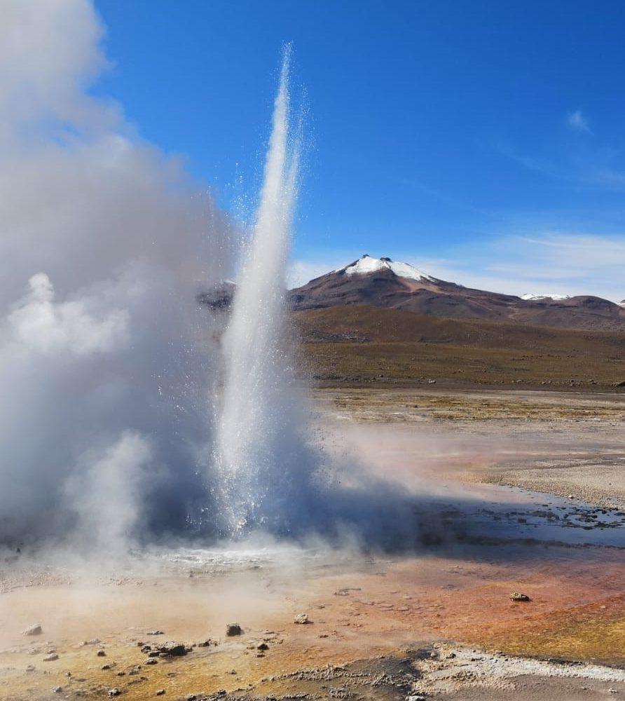 Geysers El Tatio jet Atacama