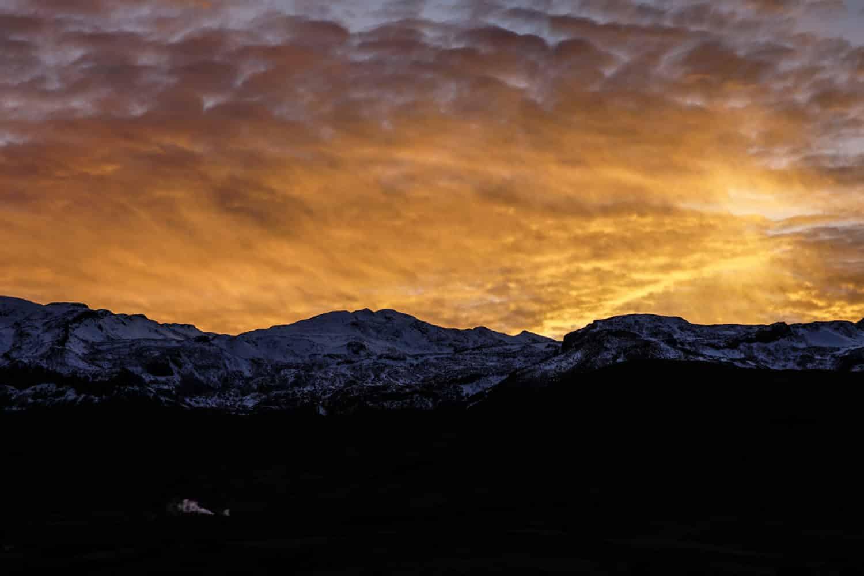 coucher soleil geysers