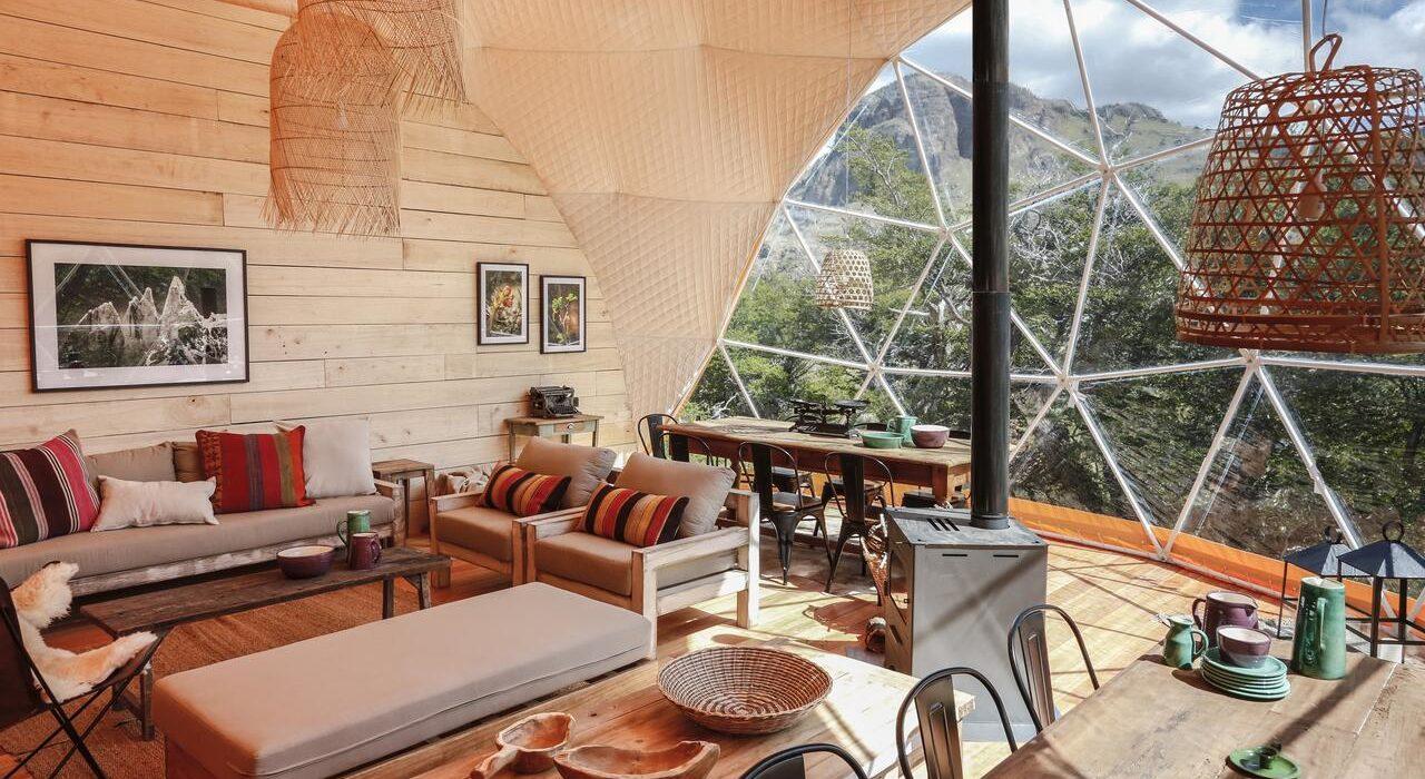 Eco Dome El Chalten Logement durable