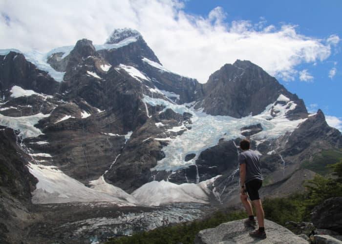 Massif Glacier Frances Torres del Paine W
