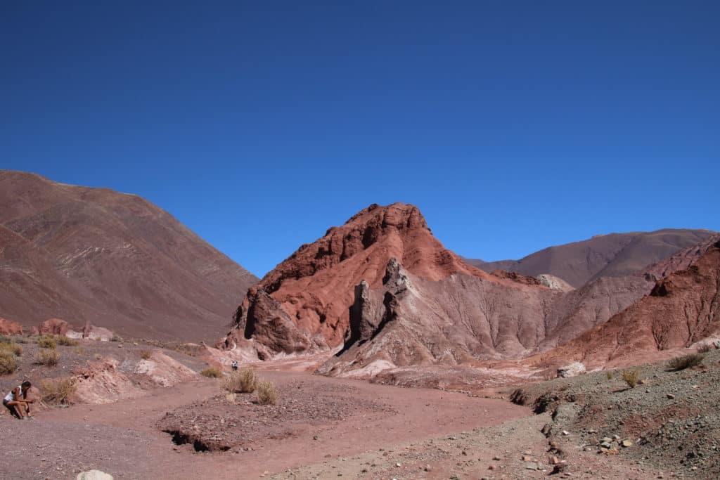 rainbow valley Atacama Chile