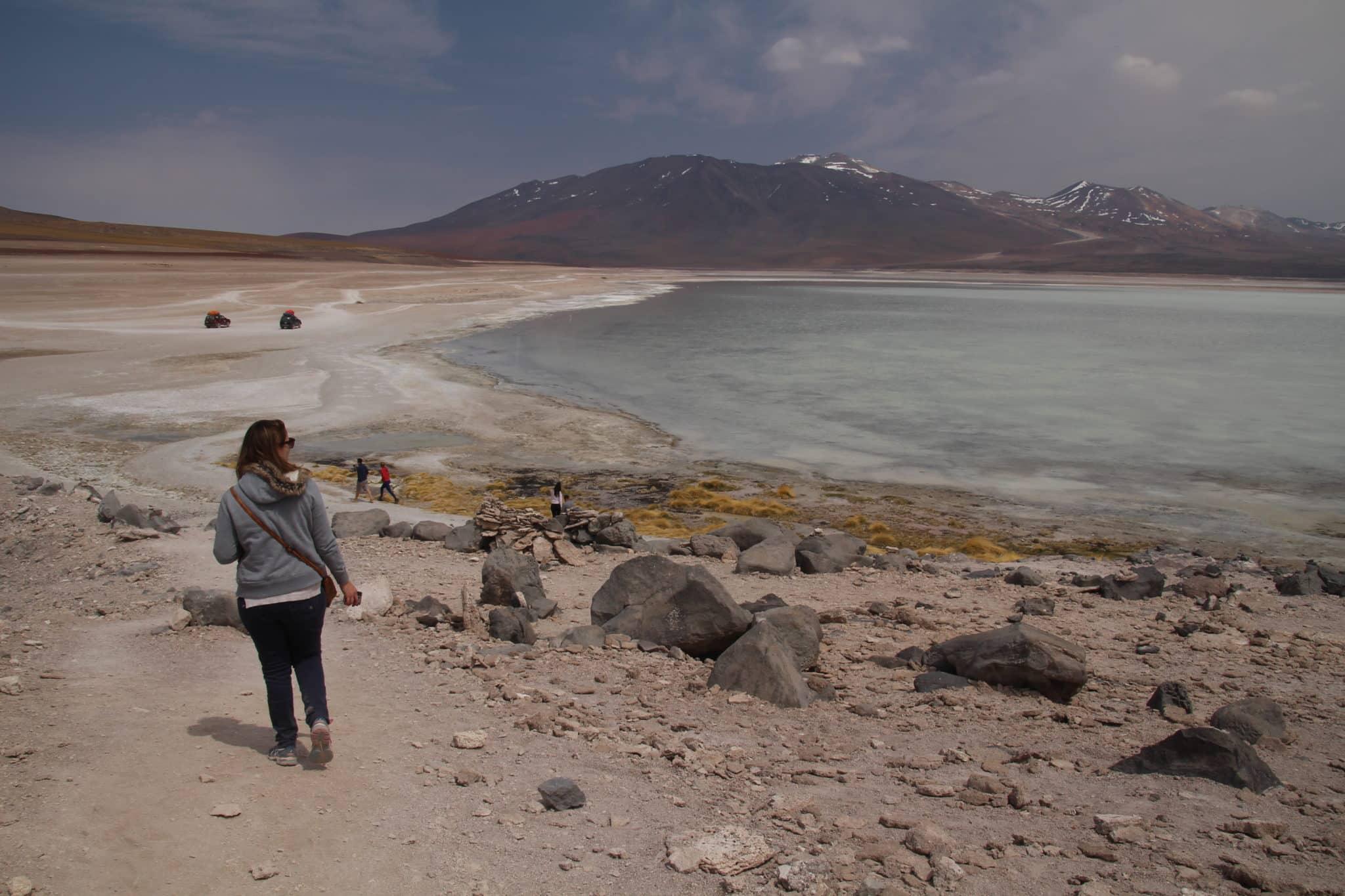 Laguna Blanca Uyuni