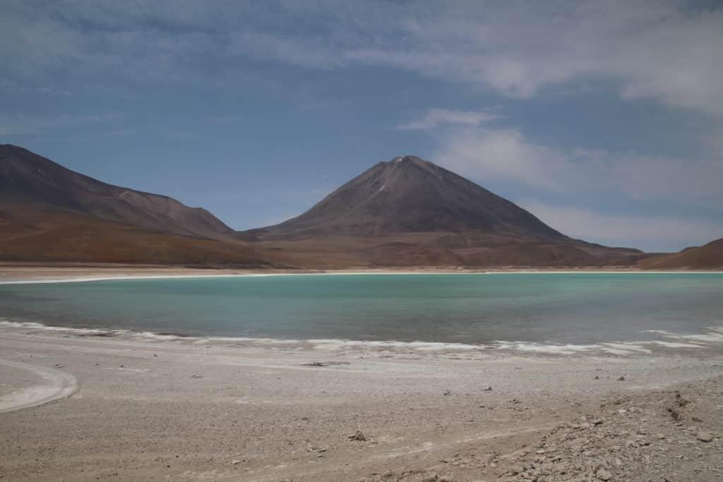 Laguna Azul reserve Eduardo Alvaroa Hito cajon chile Bolivia