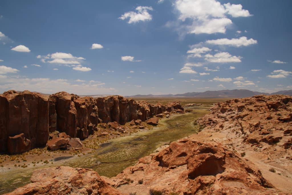Valle anaconda Uyuni