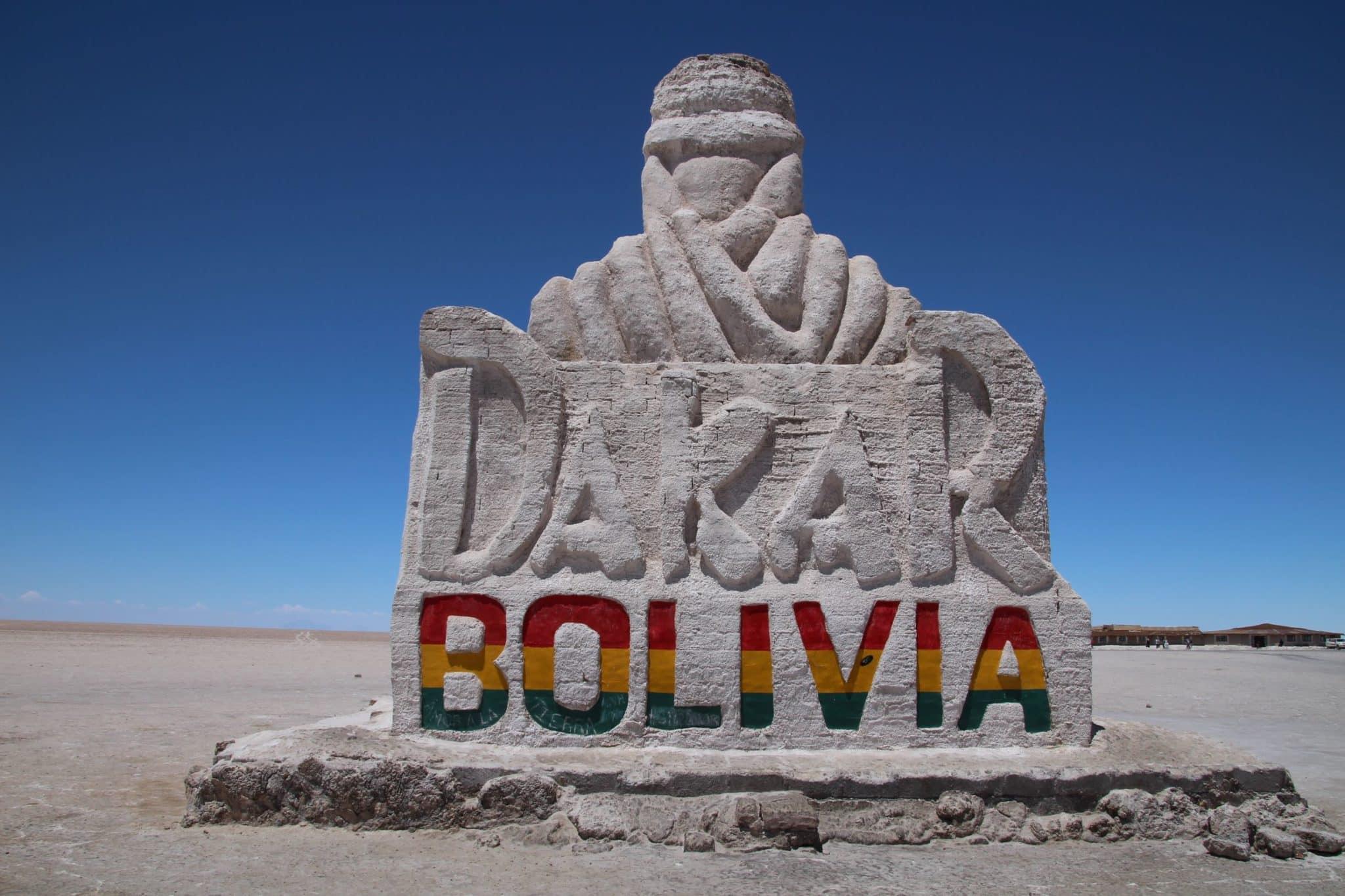 Monument Dakar Bolivie