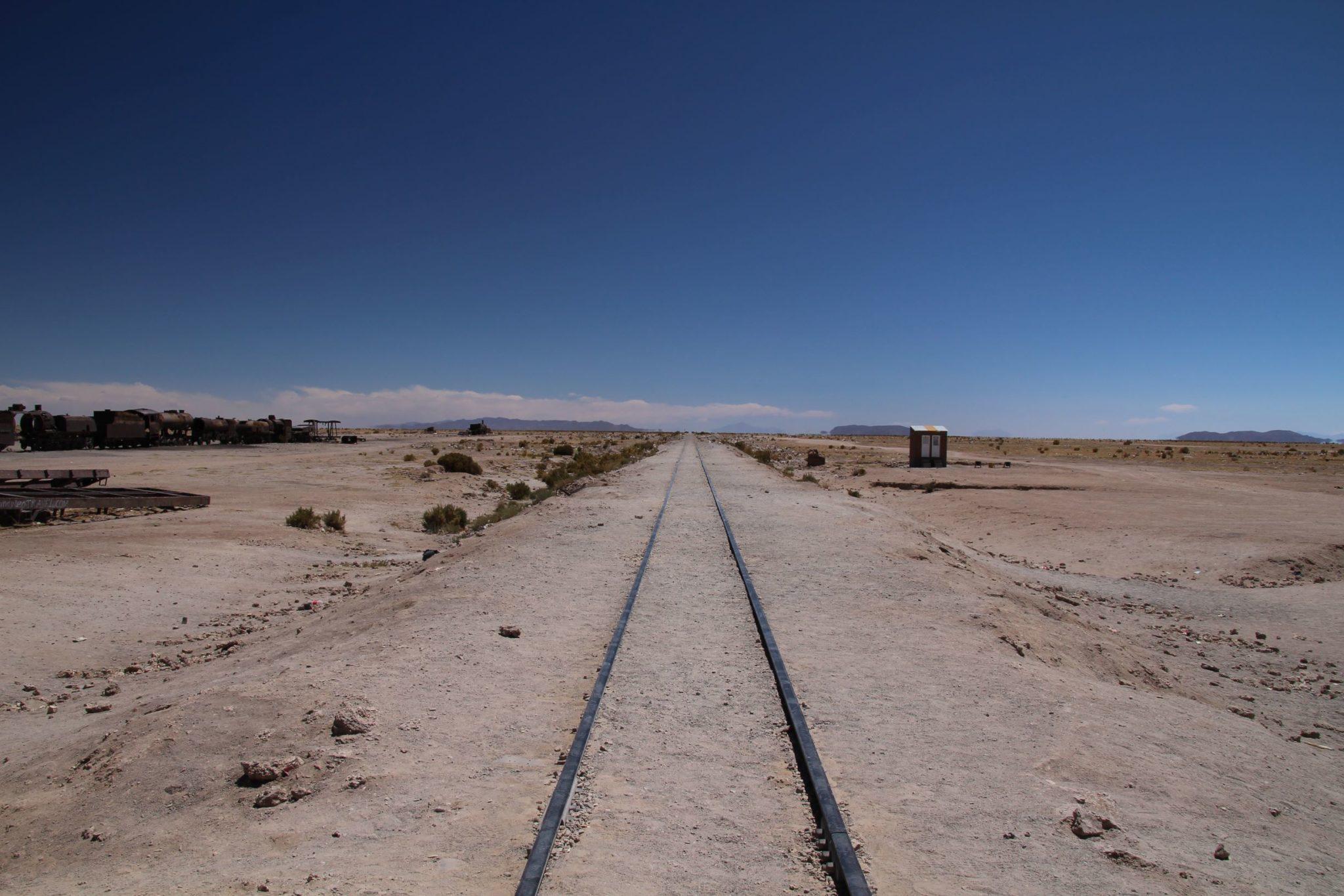 rail de trains uyuni
