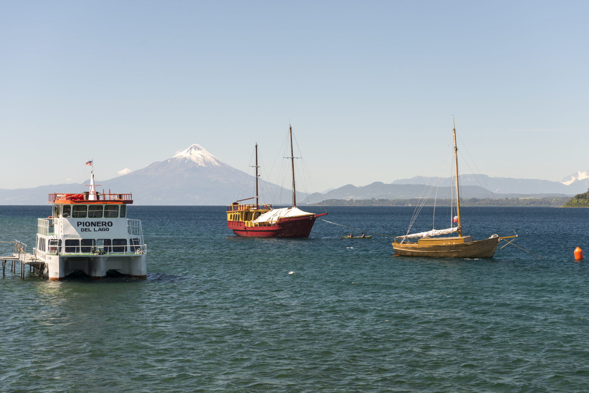 The volcano and the view of Puerto Varas