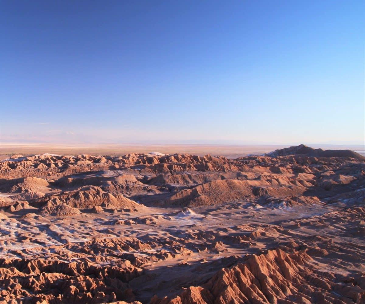Randonnée vallée de la lune Atacama