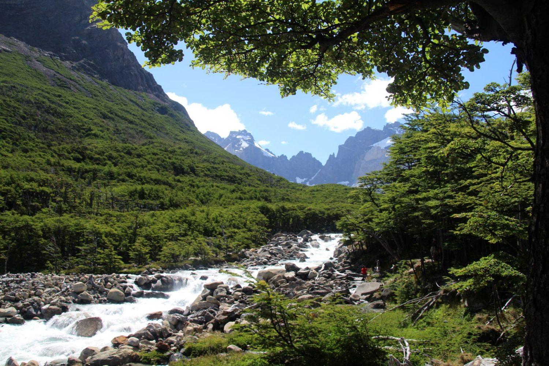 Trek W Torres Del Paine Patagonie