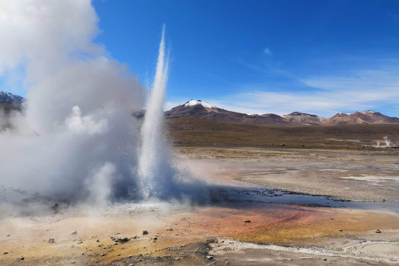 Les geysers del Tatio a Atacama