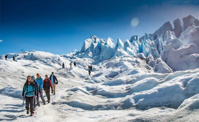 Glacier trekking Perito Moreno Patagonia Argentina
