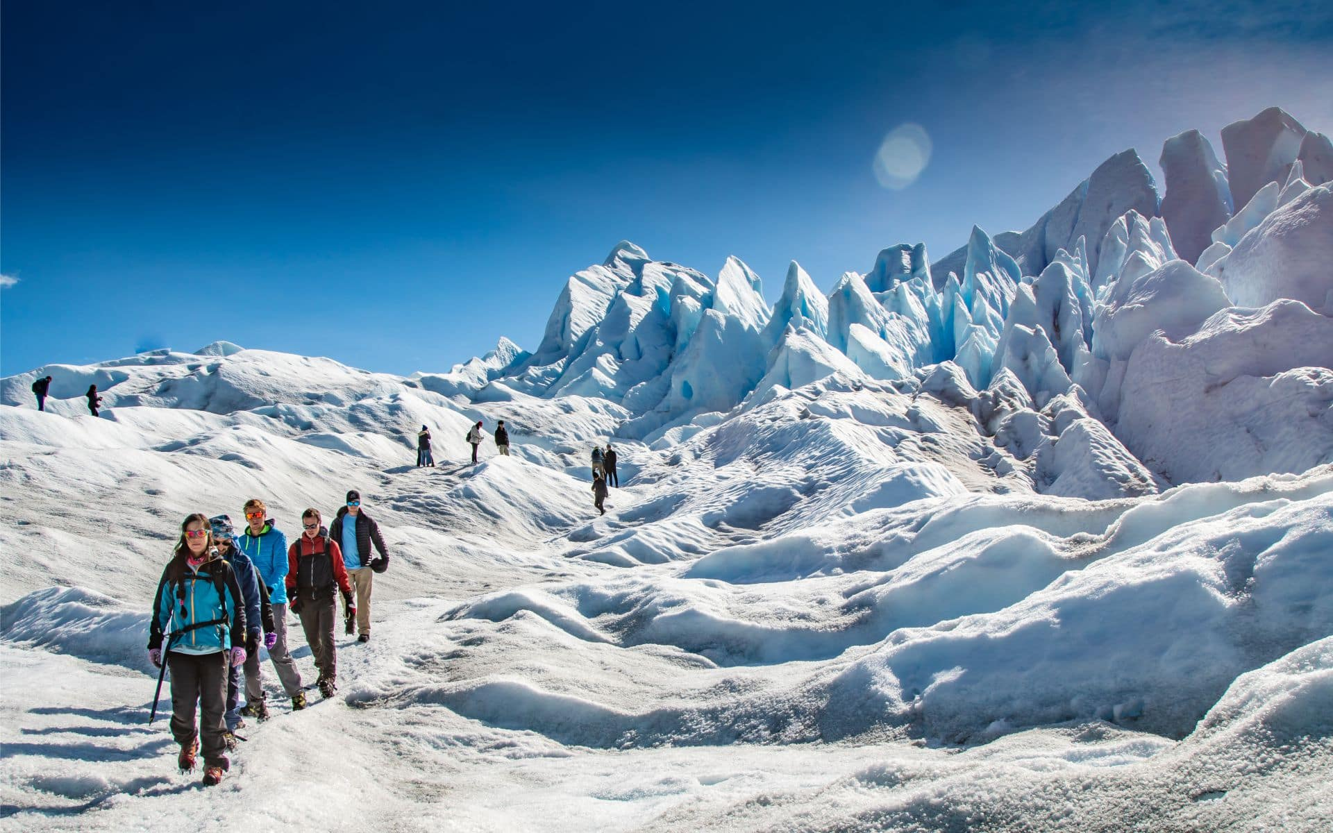 Trekking glacier Perito Moreno Patagonie Argentine