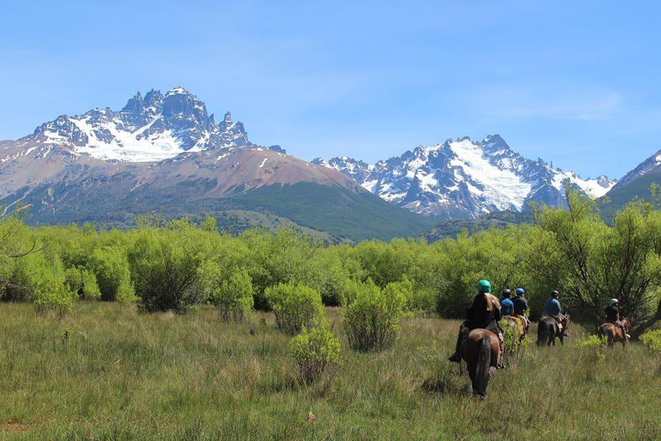 horseback riding al galope