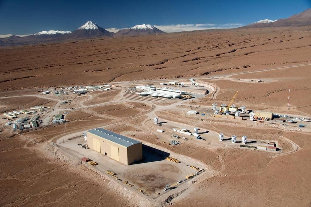 Centre d'observation astronomique ALMASan Pedro