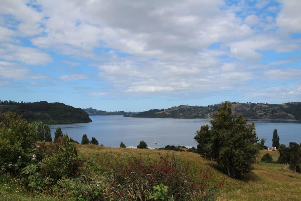 on the road to ancud chile chiloé travelcoachchile
