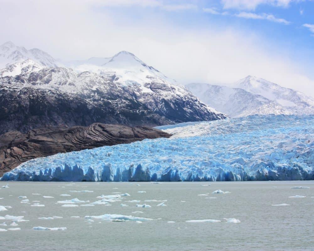 Glacier Grey torres del paine chili patagonie