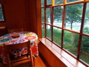 kitchen cabin puerto bertrand