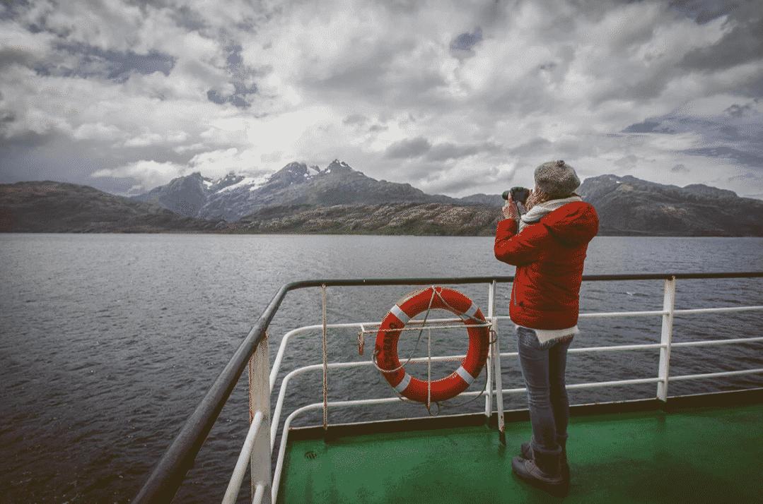 navigation ferry navimag puerto montt puerto natales chili patagonie région des lacs