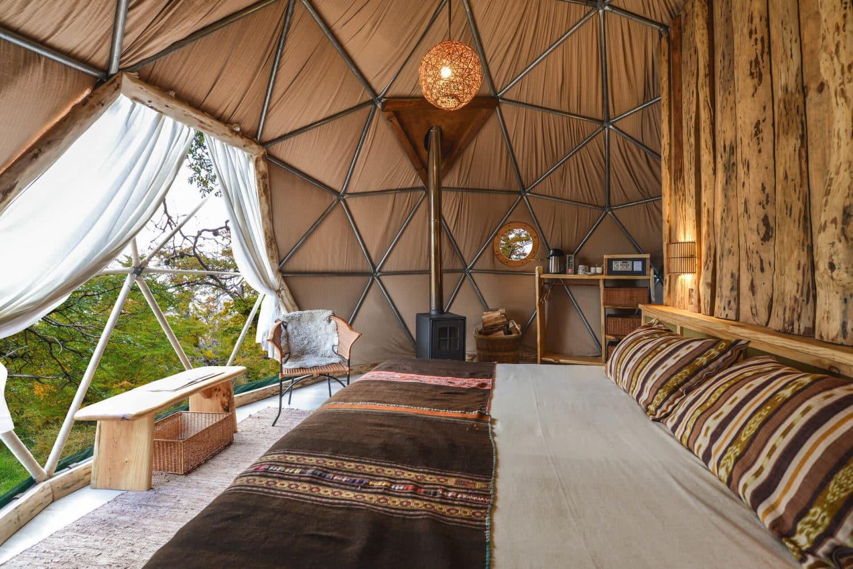 Suite Dome EcoCamp Patagonia Torres del Paine