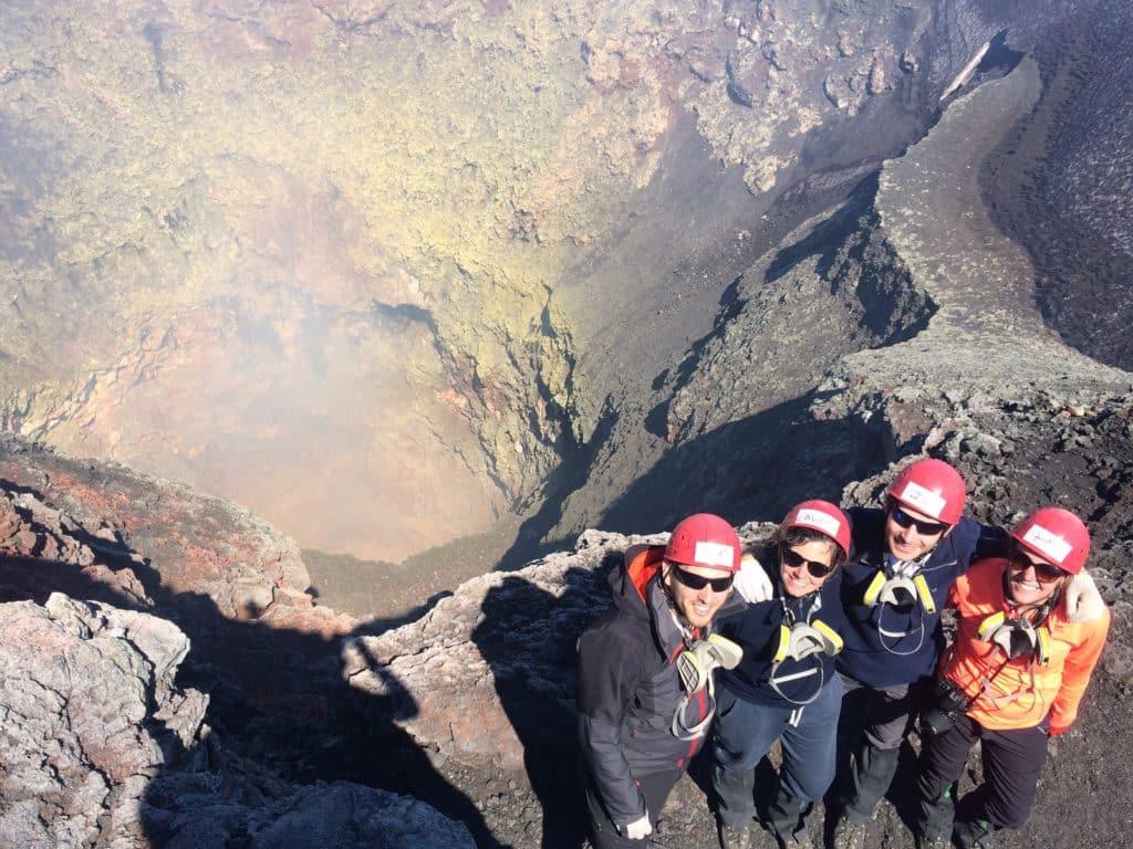 volcan villarica cratere chili travelcoachchile
