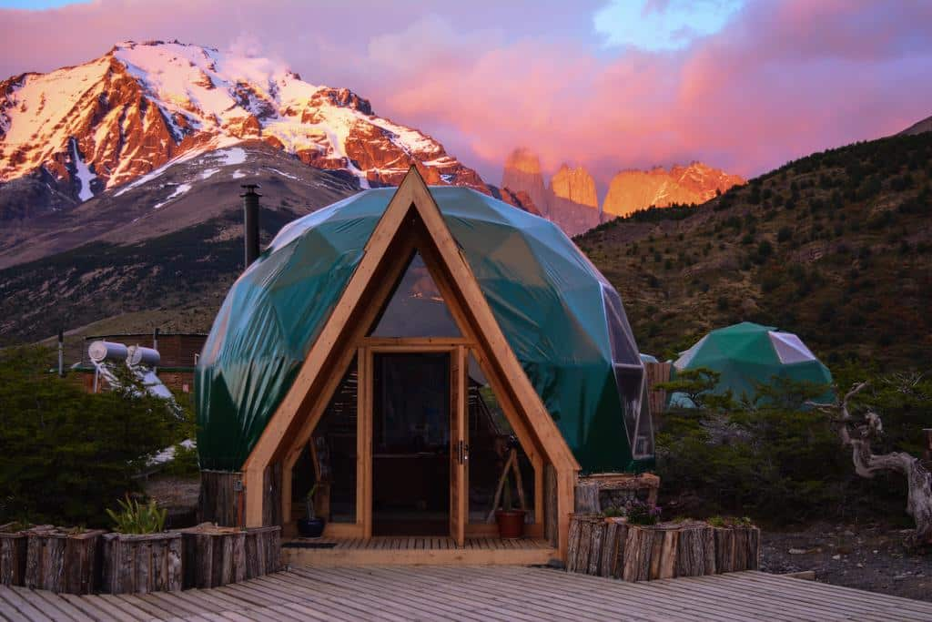 Eco camp Patagonia in Torres del Paine
