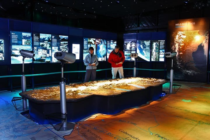 Le musée glaciarium d'El calafate