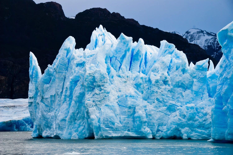 Gros glacier patagon
