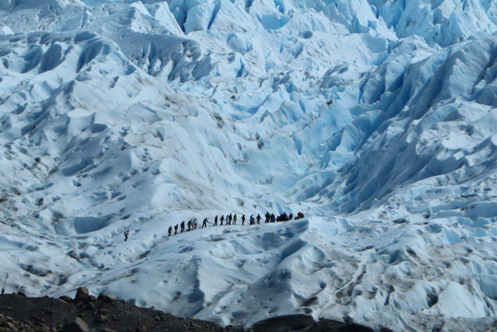 marche glacier patagonie