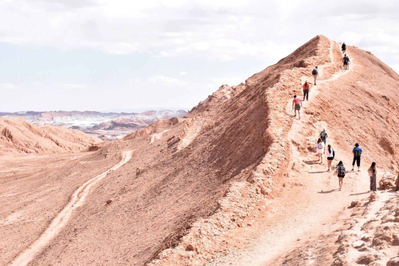 Randonnée dans le désert d'Atacama