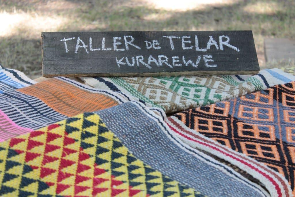 Atelier d'artisanat de laine Mapuche