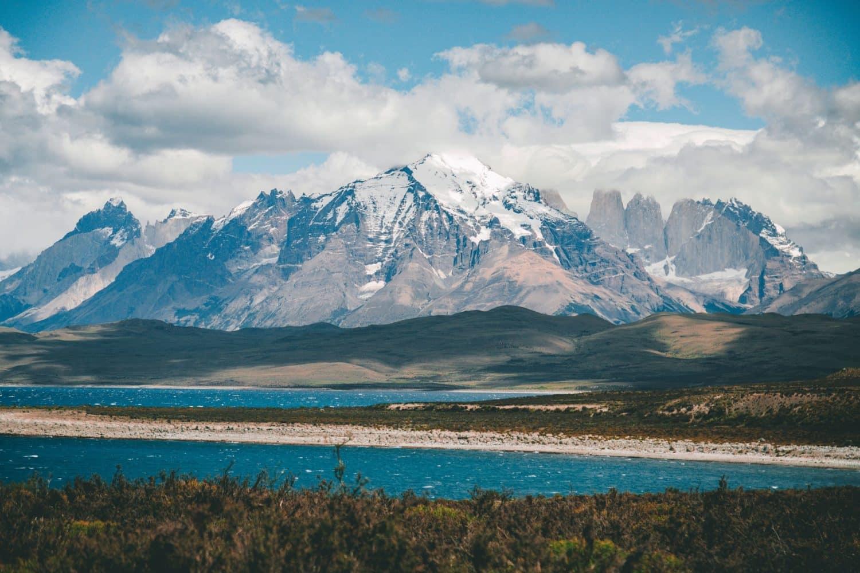 torres del paine patagonie chilie lac montagne