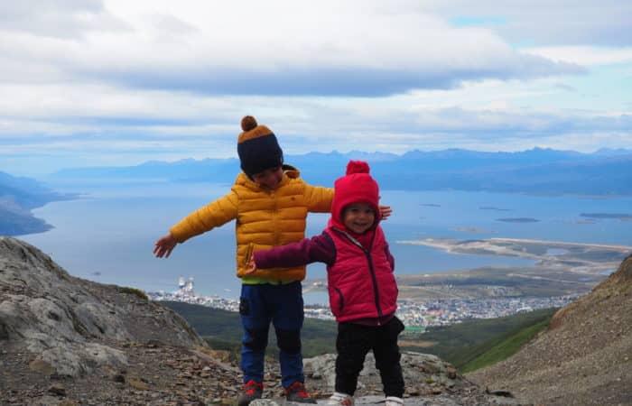 en famille en tour du monde a Ushuaia, terre de feu