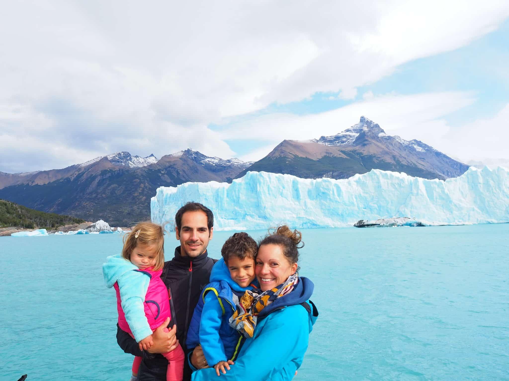 tour du monde en famille argentine glacier perito moreno
